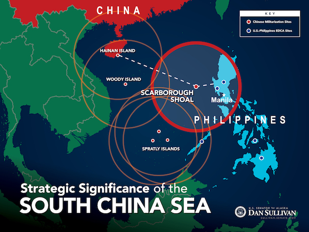 China's continued military build up on contested islands ...